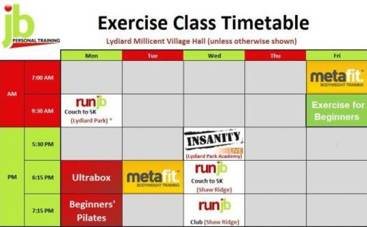 Swindon Exercise Classes